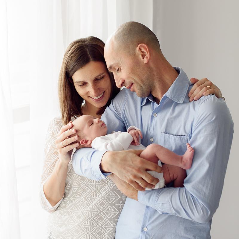 naturalna sesja noworodkowa